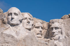Primer del monte Rushmore foto de archivo