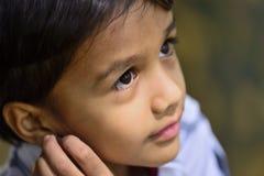 Primer del muchacho lindo Foto de archivo libre de regalías