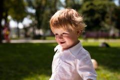 Primer del niño hermoso Fotografía de archivo libre de regalías