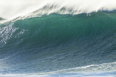 Primer del océano de la onda Imagen de archivo libre de regalías