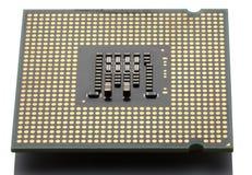Primer del ordenador del microprocesador Imagenes de archivo