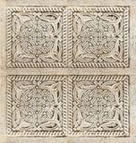 Primer del ornamento arquitectónico Imagenes de archivo