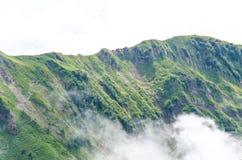 Primer del paisaje de las montañas Fotos de archivo libres de regalías