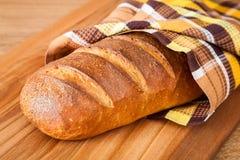 Primer del pan del hogar fotografía de archivo
