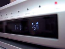 Primer del panel de DVD Imagen de archivo