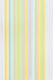 Primer del papel multicolor de la tarjeta Fotografía de archivo libre de regalías