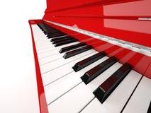 Primer del piano Fotografía de archivo