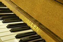 Primer del piano; Abbey Road Studios, Londres Foto de archivo libre de regalías