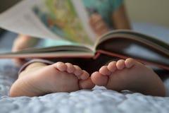 Primer del pie del niño Imágenes de archivo libres de regalías