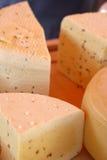 Primer del queso Foto de archivo libre de regalías