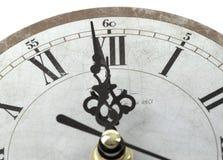 Primer del reloj Foto de archivo