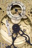 Primer del reloj de abuelo Imagen de archivo libre de regalías