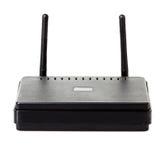 Primer del router de Wi-Fi Imagen de archivo libre de regalías