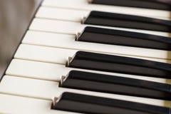 Primer del sintetizador del teclado Imágenes de archivo libres de regalías