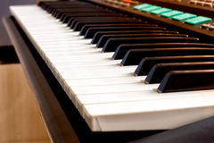 Primer del sintetizador del teclado Fotografía de archivo