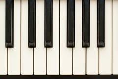 Primer del sintetizador del teclado Fotos de archivo