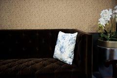 Primer del sofá Imagenes de archivo