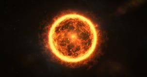 Primer del sol ilustración del vector