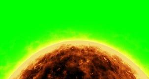 Primer del sol stock de ilustración