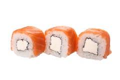 Primer del sushi de la porción Imágenes de archivo libres de regalías