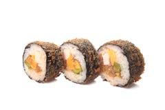 Primer del sushi de la porción Fotografía de archivo