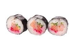Primer del sushi de la porción Foto de archivo libre de regalías