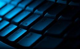 Primer del teclado con el espacio de la copia Fotografía de archivo libre de regalías