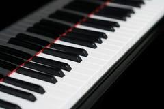 Primer del teclado de piano imagenes de archivo