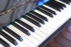 Primer del teclado de piano Imagen de archivo libre de regalías