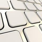 Primer del teclado para vaciar claves del copyspace Imagen de archivo libre de regalías