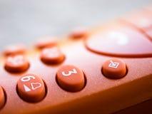 Primer del teléfono Foto de archivo libre de regalías