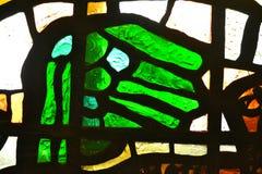 Primer del vitral de la abstracción Foto de archivo libre de regalías