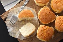 Primer delicioso de la vida del pastel de queso de la miel del postre dulce suave de los pasteles aún Fotografía de archivo libre de regalías