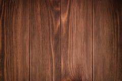 Primer detallado del fondo de madera marrón de la textura foto de archivo libre de regalías