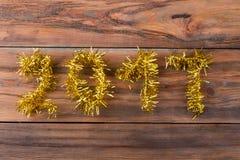 Primer en 2017 de oro Fotos de archivo libres de regalías