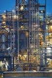 Primer en refinería de petróleo Foto de archivo