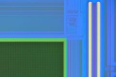 Primer extremo del sensor digital de la cámara del teléfono fotos de archivo libres de regalías