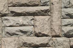 Pared de piedra grande Foto de archivo libre de regalías