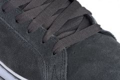 Primer gris del zapato Imagenes de archivo