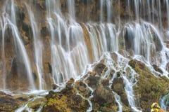 Primer hermoso de la cascada Imágenes de archivo libres de regalías