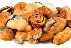Primer hermoso de los panes Foto de archivo libre de regalías