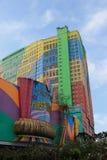 Primer hotel en las montañas de Genting, Malasia del mundo Imagen de archivo libre de regalías