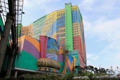 Primer hotel en las montañas de Genting, Malasia del mundo Imágenes de archivo libres de regalías