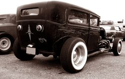 Primer Hotrod in Sepia Stock Photography