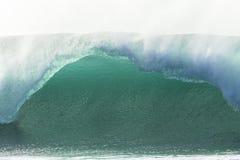 Primer hueco de la onda Foto de archivo