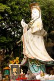 Primer Kwun Yam Guan Yin Shrine en el templo de Tin Hau al lado de Repu Fotografía de archivo