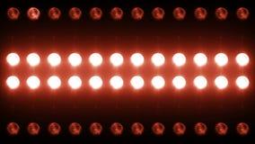 Primer llevado Backgrlound 4K de la luz de la pared almacen de video