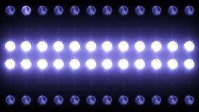 Primer llevado Backgrlound 4K de la luz de la pared metrajes