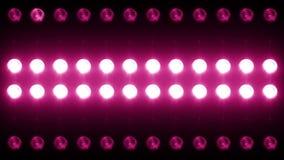 Primer llevado Backgrlound 4K de la luz de la pared almacen de metraje de vídeo
