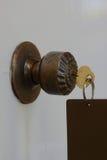 Primer los botones dominantes Imagen de archivo